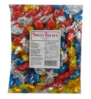 Sweet Treats Wrapped Hard Toffees - Assorted (1kg)