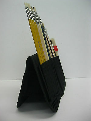 Artist Paint Brush Case Holder For Short And Long Handles Great Gift Idea !