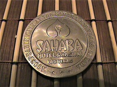 3 Rare Vintage Gaming Token In Great Condition - 1969 Sahara, Stardust, Ceasars