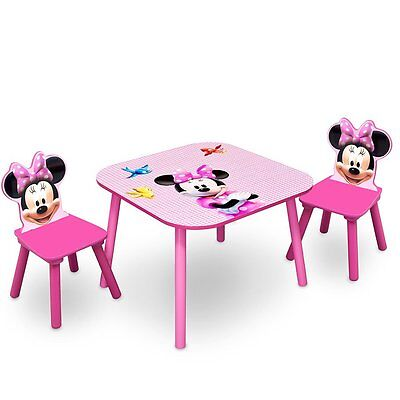 Minnie Mouse Table and Chair Set - NEW