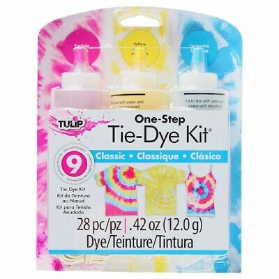 Tulip One Step Tie Dye Kit - 3 Colours Kit (7 Various Kits Available)