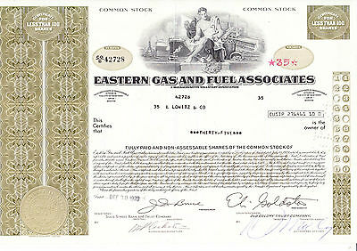 Eastern Gas and Fuel Associates, 1970