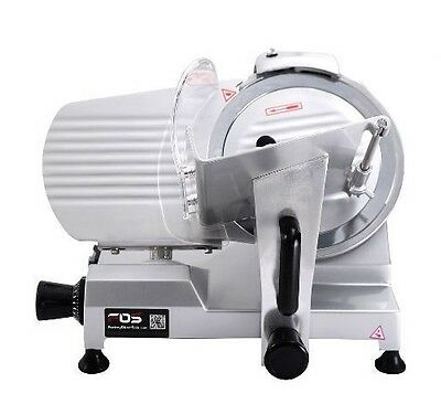 "10"" Blade Commercial Meat Slicer Deli Meat Cheese Cutter Kitchen Veggie Electric"