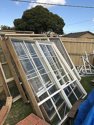 Used Timber Windows - Set Of 6