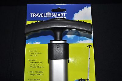 TRAVEL SMART by Conair Extra-Compact Luggage, etc. Cart, NEW with FREE Shipping