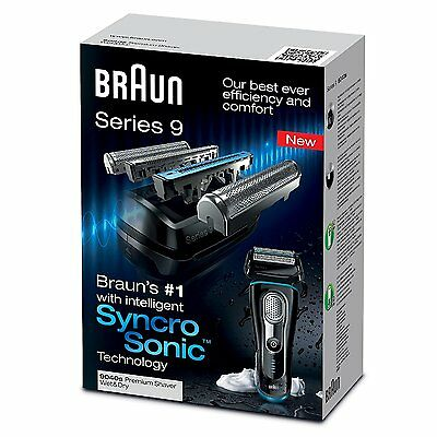 Braun Series 9 9040s Men's Cordless Wet & Dry Rechargeable Electric Shaver Razor