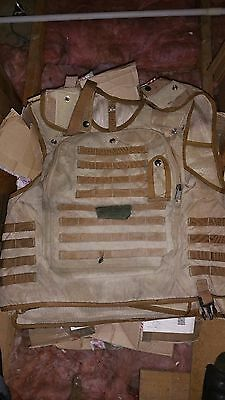 British Army Surplus Osprey Mk2 Body Combat Body Armour Vest Only Desert