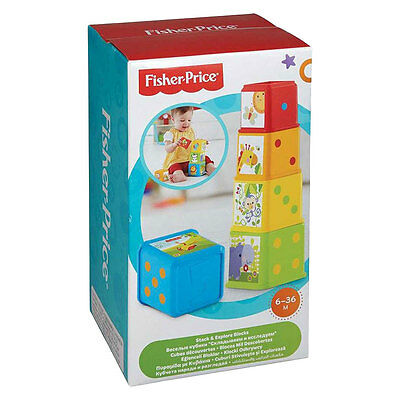 Fisher-Price Stack & Explore Blocks - NEW