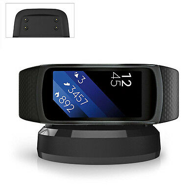 Charging Adapter Cradle Dock Holder for Samsung Gear Fit2 SM-R360 Smart  Watch