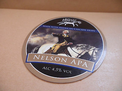 White Horse Brewery Nelson APA Ale Beer Pump Clip Bar Collectible