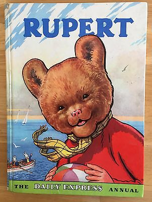 RUPERT ORIGINAL ANNUAL 1959 Not Inscribed Not Price Clipped VG Plus