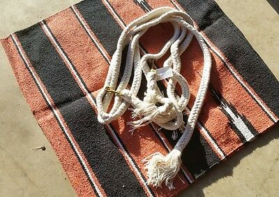Navaho Saddle Cloth and split reins package only $50.00 plus postage