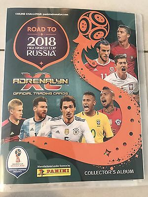 Panini Adrenalyn XL Road To 2018 World Cup Russia Complete Set all 477 Cards