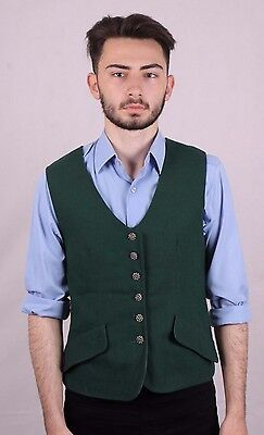 Genuine Vintage Men's 50's  Waistcoat Size Small Goodwood