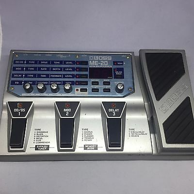 Boss ME-20 Multi-Effects Guitar Effect Pedal E26-5
