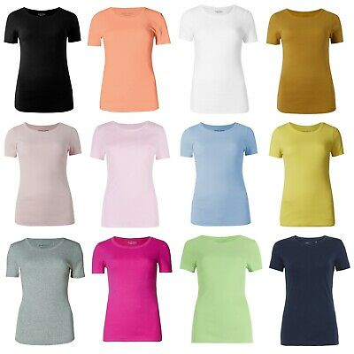 Marks & Spencer Womens Pure Cotton Short Sleeve Round Neck New M&S T Shirt Top