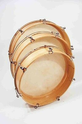 Tunable Hand Drum with natural vellum head