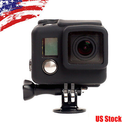 Soft Rubber Silicon Protective Case Skeleton Housing Cover for GoPro Hero 4 3+
