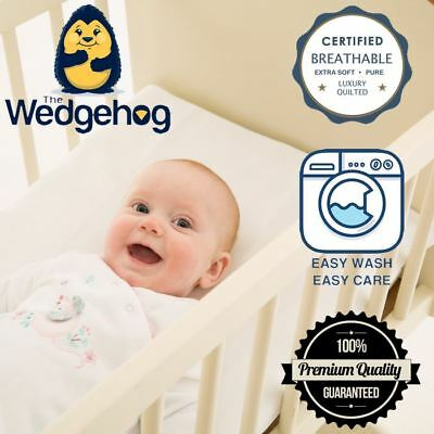 Quilted Wedgehog Deluxe - 38cm Crib Reflux Wedge - with Free Bundled eBook