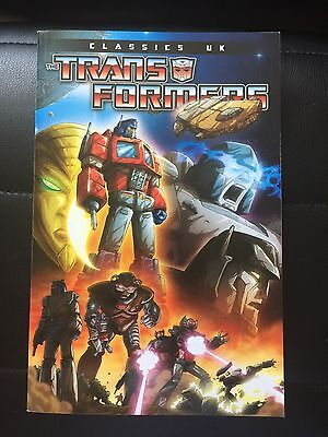 Transformers Classics UK Volume 1 IDW Paperback Comic Graphic Novel
