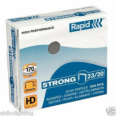 Rapid 23/20 Super Strong Heavy Duty Staples 24870400