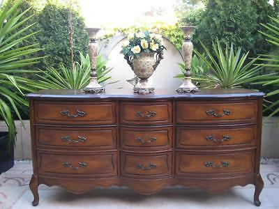 FRENCH PROVINCIAL LOUIS XV CHEST of DRAWERS CABINET TV UNIT SIDEBOARD VINTAGE