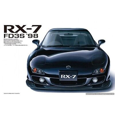 Aoshima 1/24 98 RX7 Plastic Model Kit