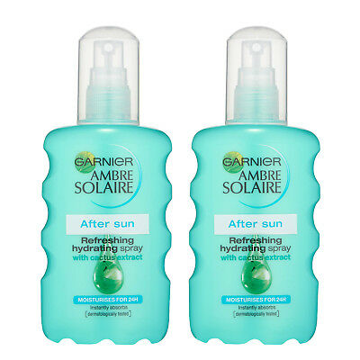Pack Of 2 Ambre Solaire After Sun Spray 200ml