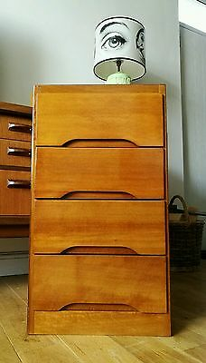 Superb Vintage Mid Century Teak Chest of Drawers