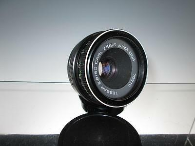 Carl Zeiss Jena M42 TESSAR 2.8/50mm Prime Lens + Caps #75314