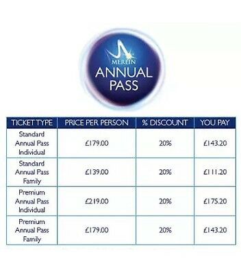 merlin pass 20% off discount code Will Send Straight Away