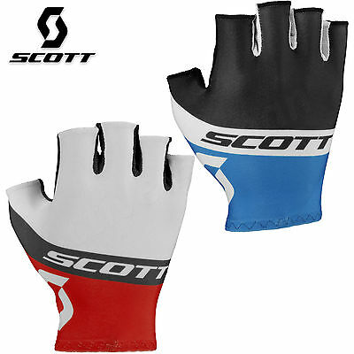 Scott RC Team SF Mens Cycling Gloves Mountain Biking MTB Fingerless Bicycle