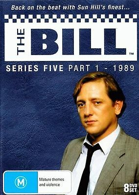 THE BILL : ITV SERIES 5 parts 1 - DVD - UK Compatible -Sealed  (8 disc)