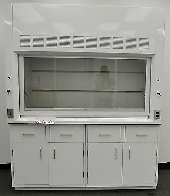 6' Laboratory Chemical Fume Hood w/ Base Cabinet and Epoxy Top.....