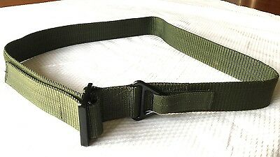 New Army Tactical Belt Adjustable Men Combat Waistband Security Military (OLIVE)