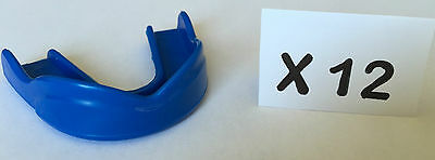 Mouthguard Gum shield EXCLUSIVE DESIGN MMA Boxing Football MADE USA (LOTS OF 12)