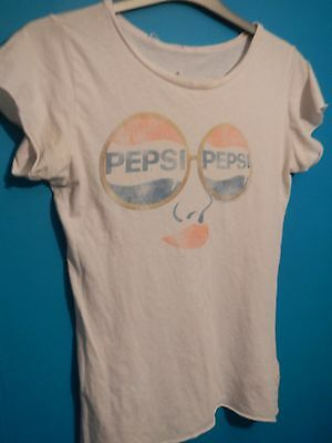 vintage retro Pepsi sunglasses logo t shirt top american