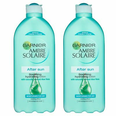Pack Of 2 Ambre Solaire After Sun Lotion 400ml