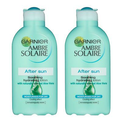 Pack Of 2 Ambre Solaire After Sun Lotion 200ml