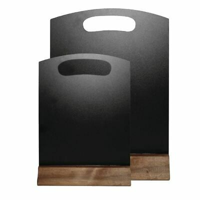 Olympia Freestanding Chalkboard Message Display Blackboard Restaurant Tableware