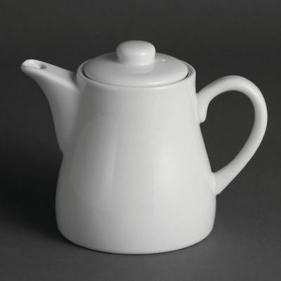 4 X Olympia Whiteware Teapots Porcelain Kitchenware Restaurant Cafe Hotel