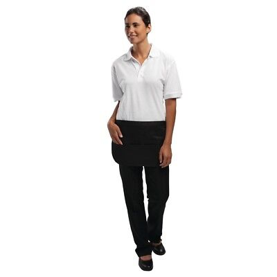 Whites Chefs Apparel Womens Ladies Money Pocket Black Card Coin Novelty Uniform