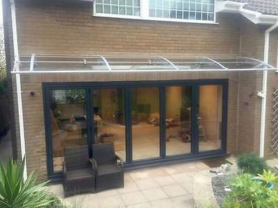 Polycarbonate DIY Cantilever Canopy 1500x 7000mm/ Garden Shed/Shelter/Walkways