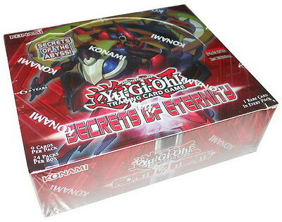 YUGIOH: BOX 24 BUSTINE SEGRETI DELL'ETERNITA' / SECRETS OF ETERNITY in INGLESE