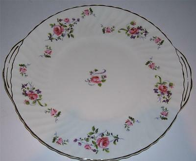 "Vintage/Shabby Chic Royal Adderley English China Cake/Sandwich Plate.""Fragrance"""