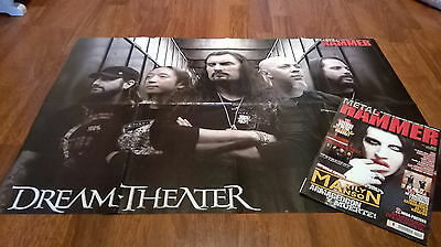 revista METAL HAMMER 259 con mega poster de DREAM THEATER / MASTODON