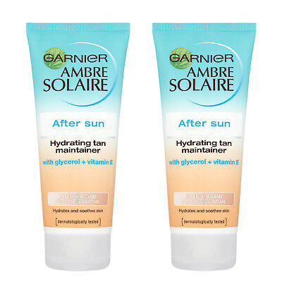 Pack Of 2 Ambre Solaire After Sun Tan Maintainer 200ml