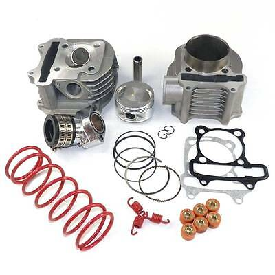 58.5mm Performance Big Bore Cylinder Kit & Head 155cc GY6 125cc 150cc Scooter