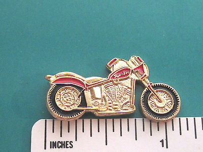 MOTORCYCLE   - Hat pin , tie tac , lapel pin , hatpin , badge GIFT BOXED