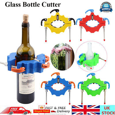 Glass Bottle Cutter Stained Glass Recycle Wine Whiskey Jar DIY Craft Art Tool UK